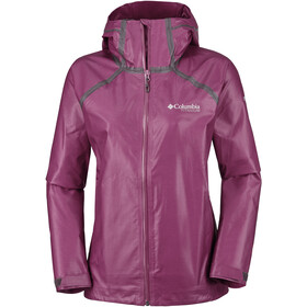 Columbia OutDry Ex Reign Jacket Women Wine Berry Heather